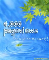 4,000 Pageviews by lilbrokenangel