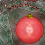 Fractal Christmas Ball by 1389AD