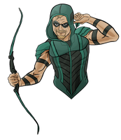 Green Arrow Rebirth by evanattard