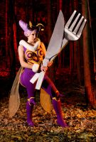 Q-Bee - Darkstalkers by JilliD