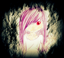 Grudgy Little Girl by kittykinetic