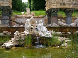 Roman Fountain by ArtOfTheMystic