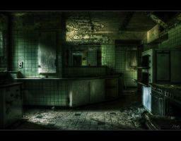 Post-Apocalyptic Kitchen by Nichofsky
