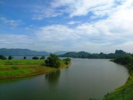 Timah Tasoh lake by plainordinary1