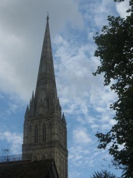 Salisbury Cathedral by Goldkin