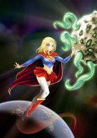 Supergirl - DC series 03 by opcrom