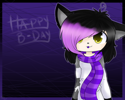 -:Happy B-Day Mindy:- by KiwiKuma