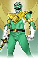 Green Ranger Power by martheus