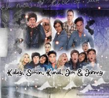 The big bang theory cast blend 4 by HappinessIsMusic