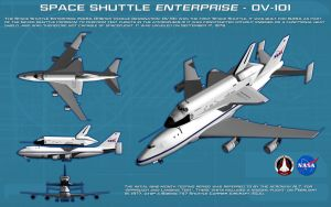 Space Shuttle Enterprise ortho [new] by unusualsuspex