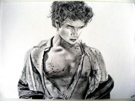 Tyler Posey Teen Wolf by Leelas-Sketches