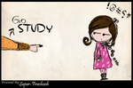 Go STUDY---------------------- by Super-Frashooh