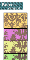 vintage damask patterns. by peter2033lawson