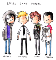 little band dudes by ichadoggi
