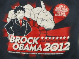 Brock Obama by VampireFreakism