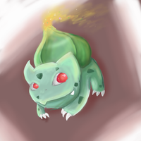 Bulbasaur by oranlarvitar
