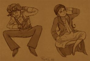Its 20s Action Fun Times by Kataoi