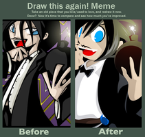 Before and After Meme by SelanPike