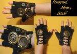 Steampunk Gloves by JustifiedTaboo