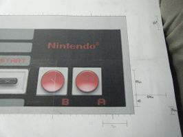 NES Controller Project 4 by devastator006