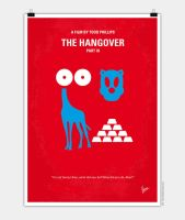 No145 My THE HANGOVER Part III minimal movie poste by Chungkong