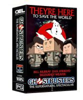 Cubee - Ghostbusters VHS by 7ater