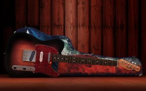 telecaster by gbrgraphix