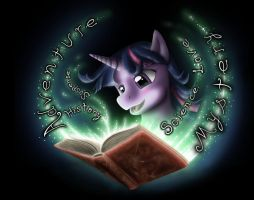 Reading is Magic by AnaduKune