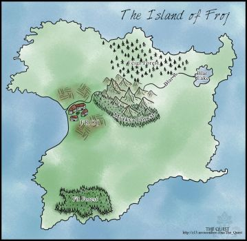 Island of Froj by Freesong