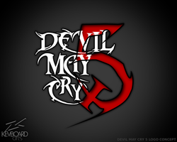Devil May Cry 5 --- Logo Idea --- DMC5 by kevboard