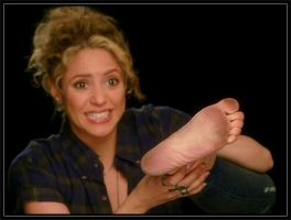 From My Collection Shakira's Dirty Sole! by tkltkltklyou