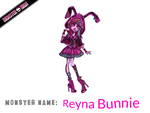 Monster High: Reyna Bunnie by gtxoxo