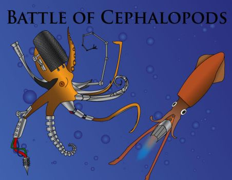 Battle of Cephalopods by Chris-T