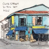 Clive Street by parka
