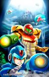 Mega Metroid X by Radiant-Grey