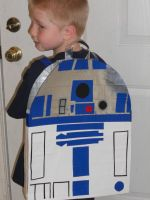 R2-D2 Back Pack 002 by katiesparrow1