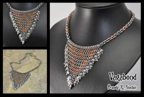 Vagabond - Maille Necklace by crazed-fangirl