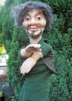 Mini-Me Zookeeper Puppet by Caerban