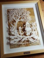 Tweedledum and Tweedledee - Original Papercut by PaperPandaCuts