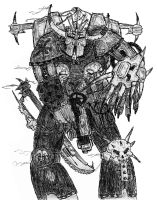 chaos marine by basler2