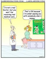 Obamacare Doctor cartoon by Conservatoons