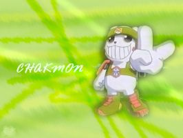 Chakmon Wallpaper by c-sacred