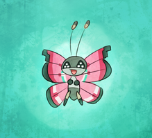 Vivillon by CJsux