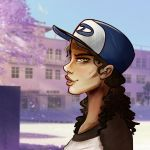 Clementine High School AU - TWDG by lullalay