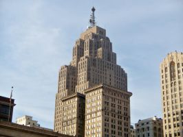 Penobscot Building, Detroit MI by TrickyM66