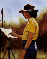 colour study 2 by ByunCaricature