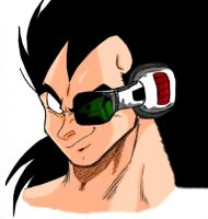 Raditz_Kakarot's Brother_Color by Nei-Ning