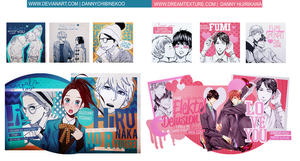 PACK| My Favorite Shojo and Yaoi Manga by DannyChibiNekoO