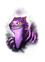 Smiley Cheshire by xashe
