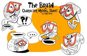 The Brain Model Sheet by Naked-Sasquatch